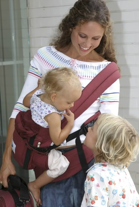 ERGO Baby Carrier hip carry