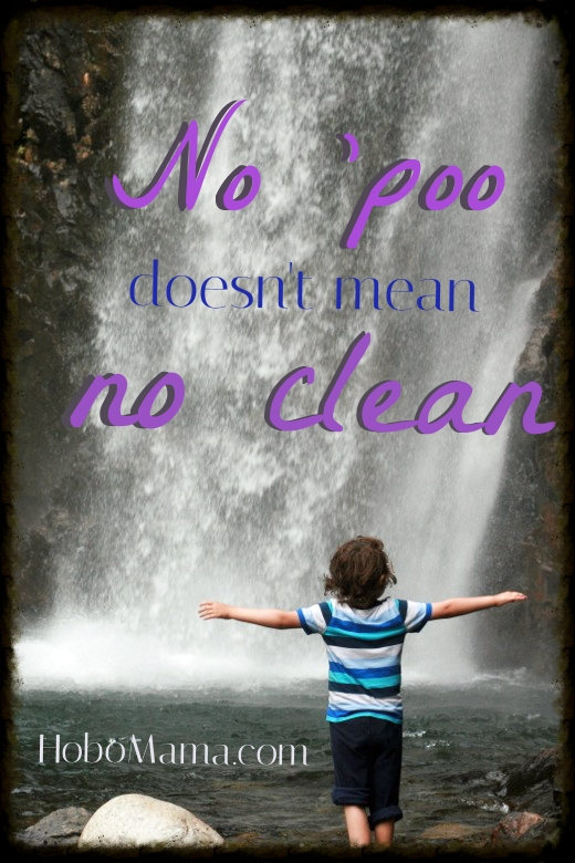No 'poo doesn't mean no clean == Hobo Mama