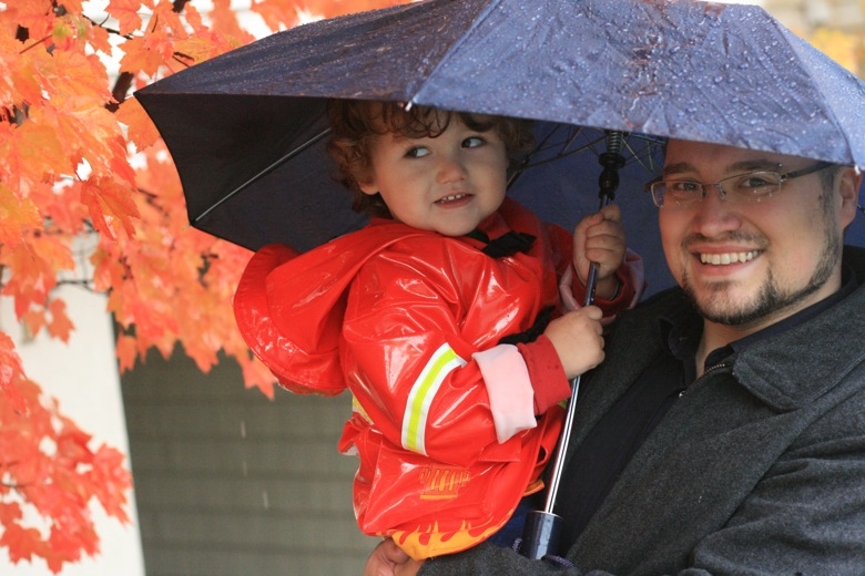rainy Halloween
