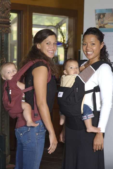 ERGO Baby Carrier front and back carries