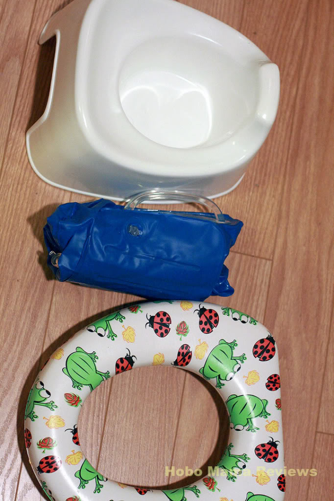 On-the-Go Inflatable Potty Seat