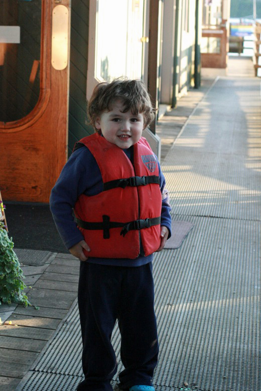 Liberty Bay boating outdoors — mikko m4yo in life vest