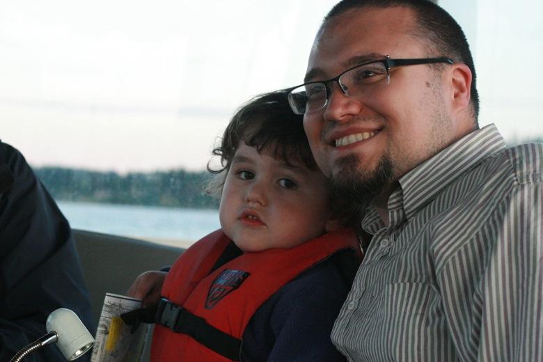Liberty Bay boating outdoors — m4yo mikko preschooler and dad