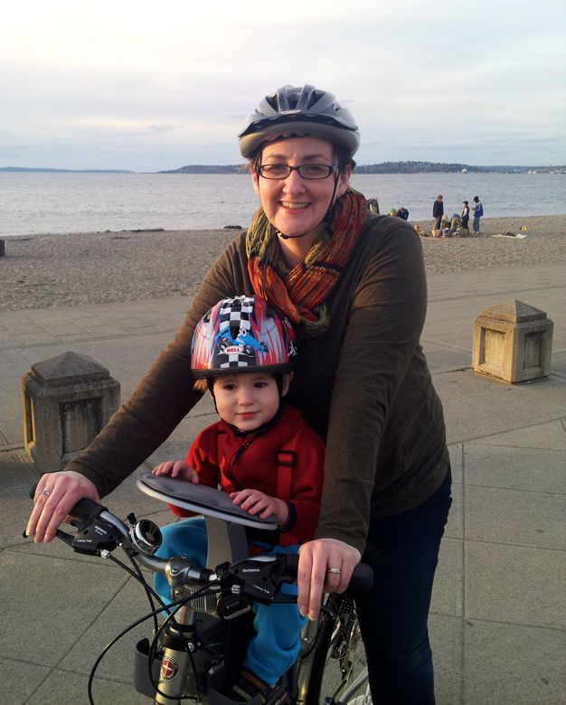 Wordless Wednesday: Biking adventure == Hobo Mama