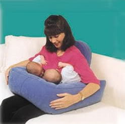 Double Blessings Twin Nursing Pillow