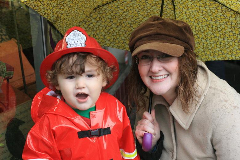Mama and fireboy