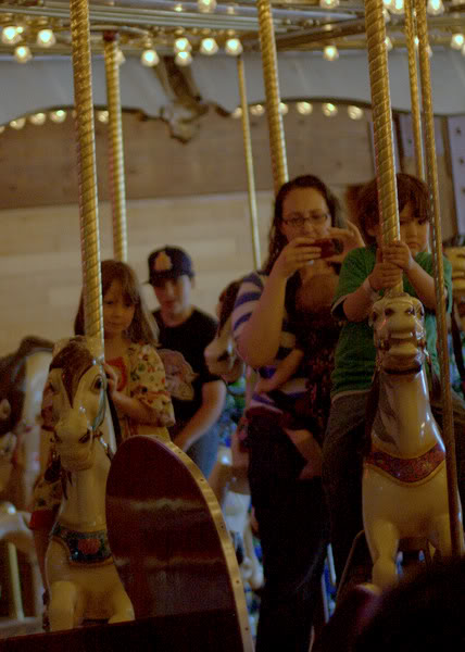 Seattle waterfront carousel — mikko moira m5yo me