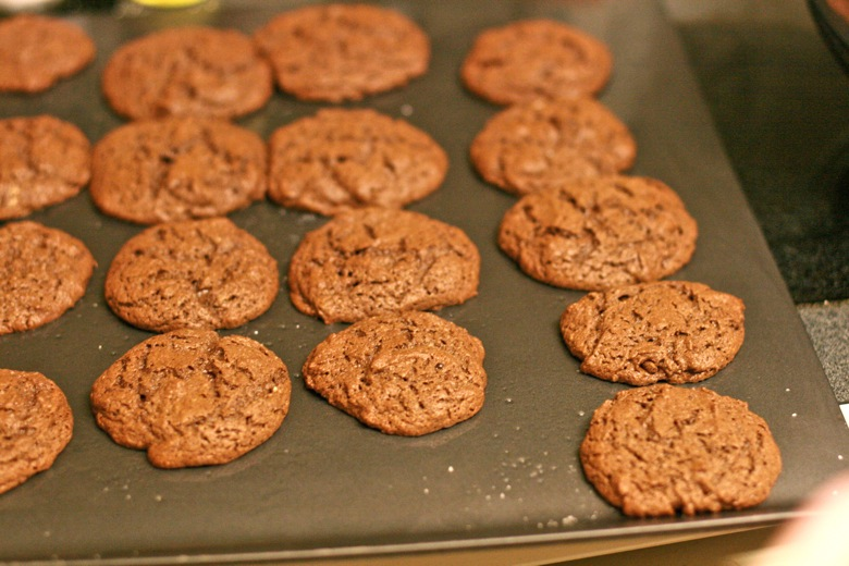 Paleo cocoa – almond butter cookies == Hobo Mama