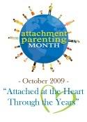 Attachment Parenting International month Oct 2009