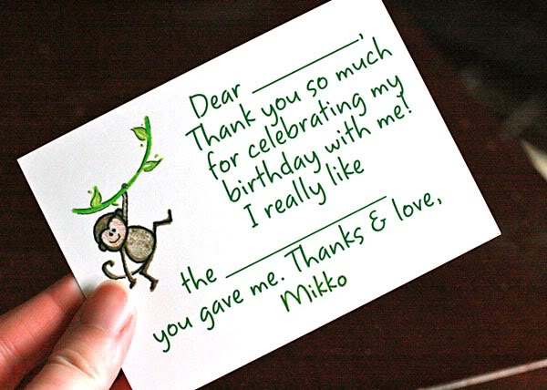 Hobo Mama: Writing Thank-You Notes With Babies And Toddlers: A Top