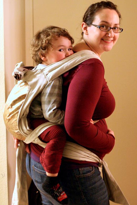 Hobo Mama Wordless Wednesday Babywearing Amp Pregnant