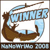 NaNoWriMo08 winner