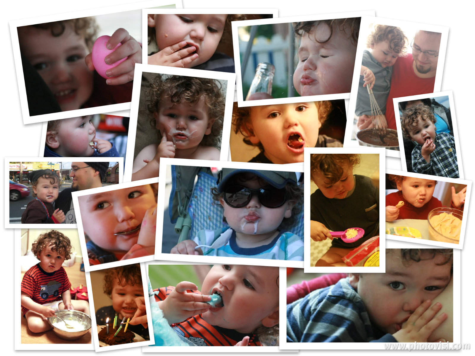 toddler eating solids and breastfeeding food collage