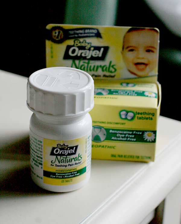 bottle and box — Baby Orajel Naturals Tablets giveaway