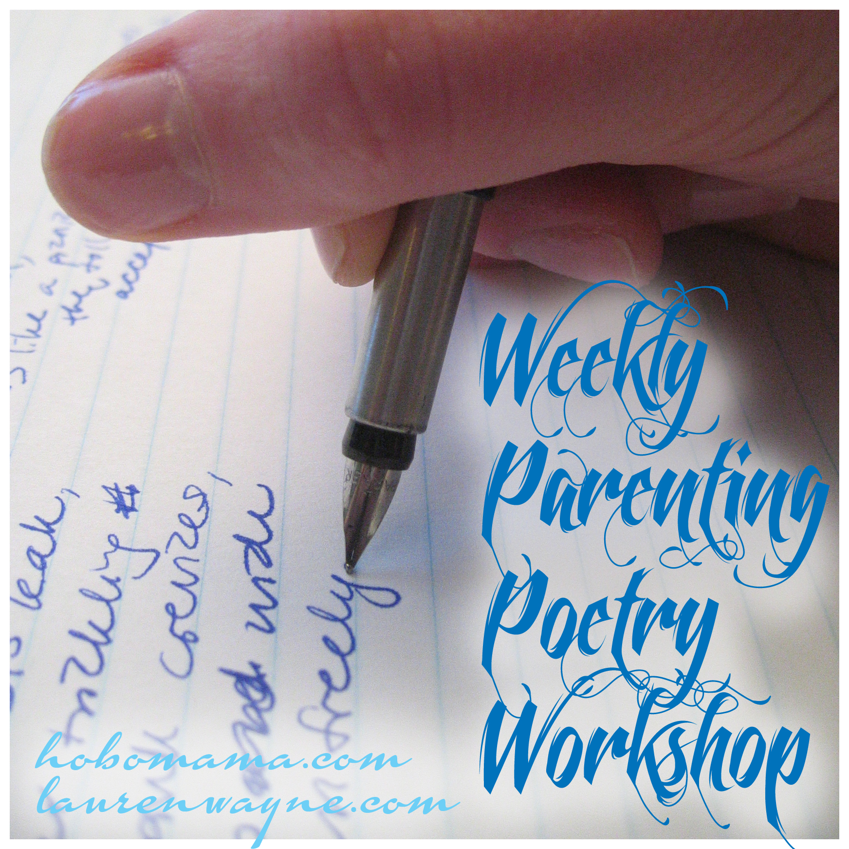Weekly Parenting Poetry Workshop