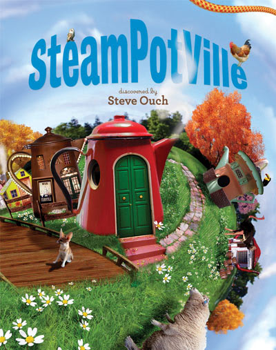 SteamPotVille by Steve Ouch children's book